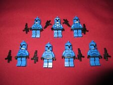 LEGO Star Wars Minifigure LOT Senate Guards , Soldiers Weapons