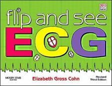 Flip and See ECG by Elizabeth Gross Cohn NEW with CD Revised 3rd Third Edition