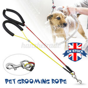 Harness Restraint Pet Grooming Rope Dog Cat Noose Table Collar Haunch Holder F