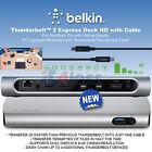 Belkin Universal Thunderbolt 2 Express Dock HD 8-Ports mit 1m Kabel F4U085vf UK