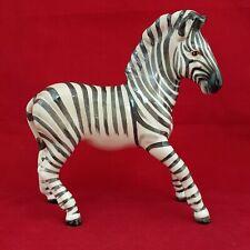 More details for beswick zebra - white with black stripes - model 845b