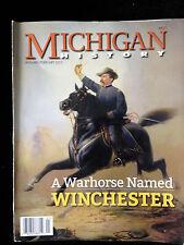 2/15 Michigan History Civil War Philip Sheridan Detroit Cholera Quakers Railroad