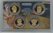 2008 Proof Presidential Coin Set 4 Dollar Coins with Box and COA*
