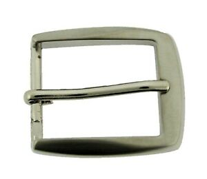 "Silver Pin Belt Buckle for 1.25"" 1 1/4"" Inches Wide Belt High Quality Style16428"