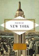 NEW Everyman's Library Pocket Poets: Poems of New York (2002, Hardcover)