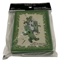 Official Final Fantasy Chocobo's Crystal Hunt Card Sleeves - Cactuar Brand New