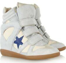 BRAND NEW Isabel Marant Suede Beckett Wedge Sneakers RRP £399