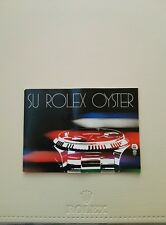 BOOKLET SU ROLEX OYSTER ANNO 1981 SP