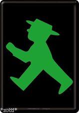 Nostalgic Art Metal Postcard 10x14 cm - Traffic Light Man Green Gehen
