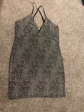 Urban Outfitters Bonnie Clyde Going Out Sparkly Dress Perfect For Xmas Size 14*