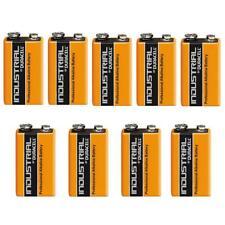 9 Duracell 9V PP3 Industrial Procell Batteries Smoke Alarm LR22 6LR61 MN1604