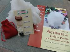 Rimuovi Aches & male Gemstone Pack (tema) - Inc. 2 Guide & Velvet Pouch.