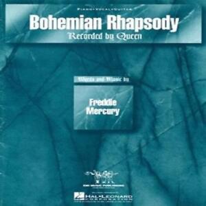 Bohemian Rhapsody Queen Sheet Music Song Piano Vocal Guitar