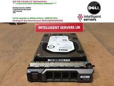 Dell 1TB 7.2K 6GB SAS 3.5'' Hard Drive 0V8G9 / 00V8G9