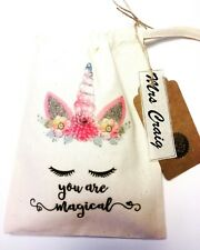 Teacher Thank You! Treat Bag **HANDMADE, CAN BE PERSONALISED**