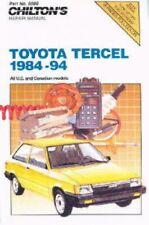 Chilton Toyota Tercel 1984-1994 Repair Manual : CH8599