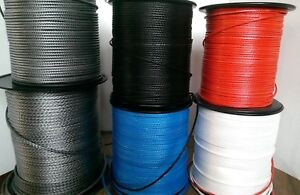 3mm/3.3mm/4mm/5mm/6mm Dyneema Control line/rope. price per 10m/15m/20m