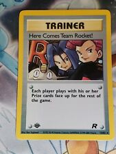 Here Comes Team Rocket Holo - 1st Edition - Team 🚀 NM🔥15/82