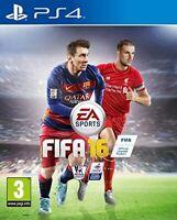 PS4 / Sony Playstation 4 Spiel - FIFA 16 (ENGLISCH) (mit OVP)