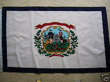 3' X 5' WEST VIRGINIA STATE FLAG 3 X 5