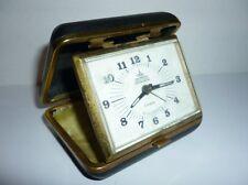Vintage Romanian Aradora Alarm Clock 8 Jewels with  Box