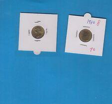 Gertbrolen 5 Centimes  Marianne en Cupro-Aluminium-Nickel 1970 Exemplaire N° 8