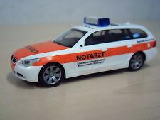 """Herpa - BMW 5er Touring (E61) """"Notarzt BRK Nordschwaben Nördl."""" Nr. 047036 -1:87"""