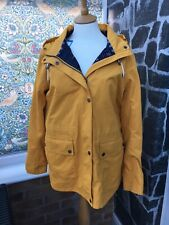 Barbour Ladies Hawkins Waterproof Jacket Colour Canary Yellow Size UK 18