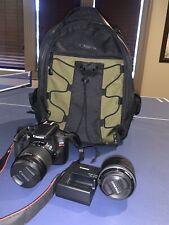 Canon EOS Rebel T6 18MP Digital Camera - Black Bundle