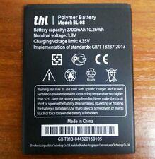 Original Battery BL-08 2700mAh 3.8V BL 08 Li-ion For THL 2015 CellPhone Warranty