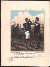 Cham. Actualités. Planche n°193. Epreuve sur blanc. 1855.