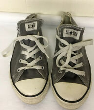 Converse Gray Grey Low Rider Sneakers Shoes USED Mens 3 Womens 5 Star With Laces