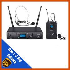 Pulse UHF Lavalier/casque micro sans fil microphone système | DJ | PA