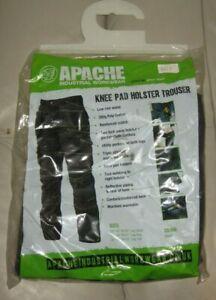 Apache Black Holster Trousers Waist 40in Leg 31in APAHTB3140