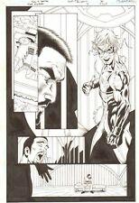 Flash: The Fastest Man Alive #11 p.6 - Inertia - 2007 art by Tony Daniel Comic Art