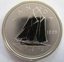 Canada 1975 Specimen Gem UNC Ten Cent Piece!!