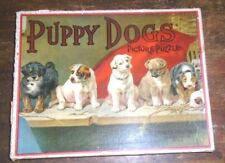 graphic old Parker Brothers Puppy Dog puzzle
