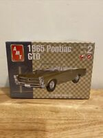 1965 Pontiac GTO Convertible AMT 1/25 Scale Plastic Model Kit 100% Complete