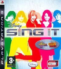 Disney Sing It! Camp Rock PS3 Playstation 3 IT IMPORT DISNEY INTERACTIVE