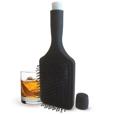 Sneak Alcohol Liquor 6 oz Hairbrush Secret Hidden Flask Bev Brush Hair Brush
