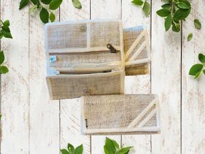 Handmade Hemp Wallet|Eco-friendly Boho Purse Clutch Wallet|Hippie Plain Wallet
