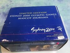 Sydney 2000 Olympic Games Limited Edition Mascot Diorama Limited #627 / 2500 Box