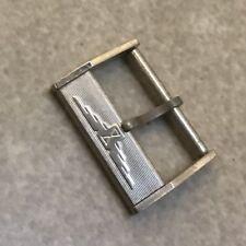 "(104) 17mm Fibbia Longines Acciaio ""steel longines Buckle"" 17mm"