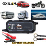 1.5A 12V Portable Car Battery Charger Trickle Maintainer Boat Motorcycle USA