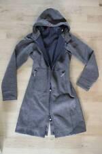 Lululemon SE Brown Tweed Apres Coat Size 4 Jacket Long