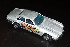 Vintage 1977 Mattel Hot Wheels Jaguar XJS Black Wall HK Metal