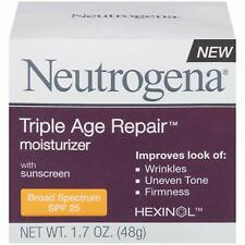 Neutrogena Triple Age Repair Moisturizer With SPF 25 ~ NEW