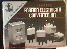 Franzus Foreign Travel Voltage Converter Kit Model 1600