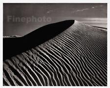 1949 Original ANSEL ADAMS White Sands Dunes New Mexico Landscape Photo Art 12X16