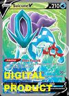 Suicune V FA EVS 173 Pokemon TCG Online DIGITAL cards PTCGO